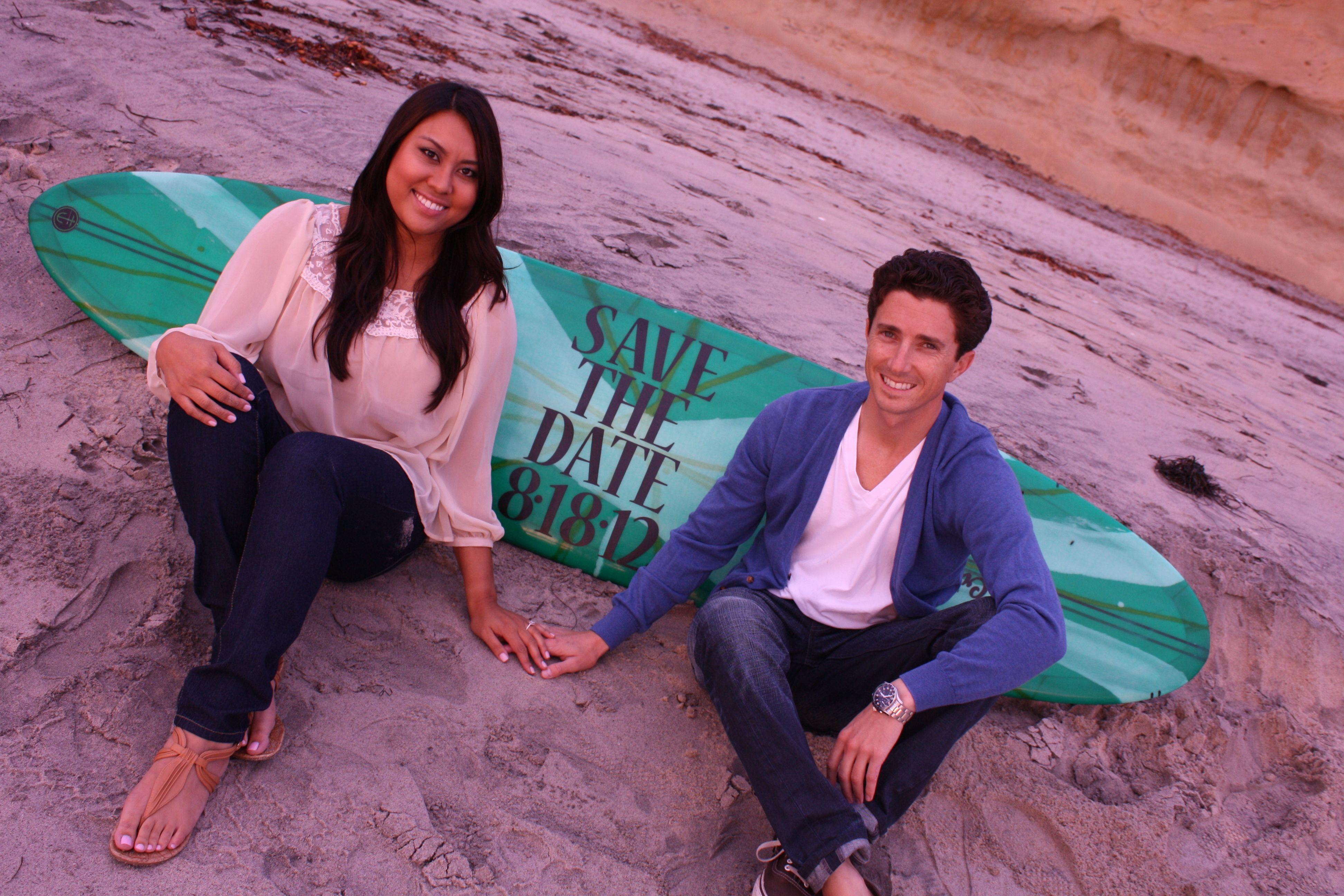 Save the Date #surfboard #beach