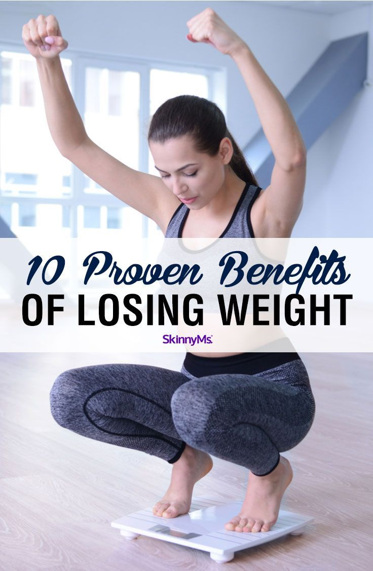 10 Proven Benefits of Losing Weight