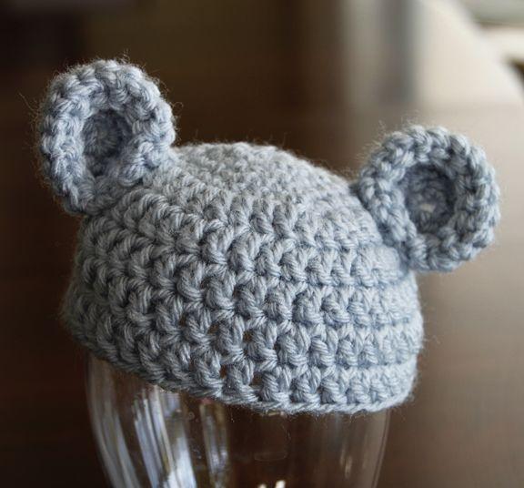 Baby Bear Hat Pattern | crochet | Pinterest | Ganchillo