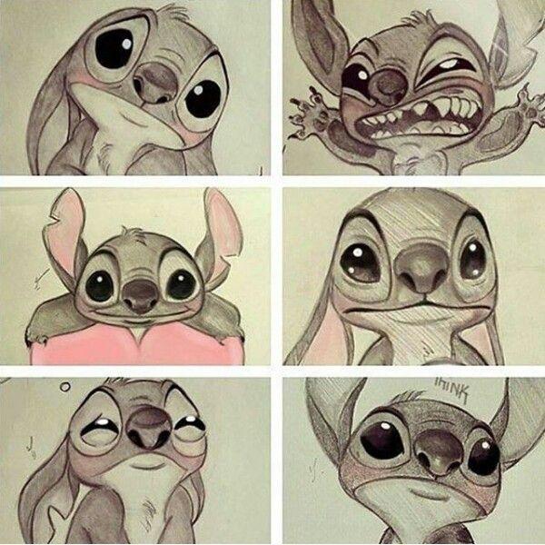 Las emociones de stitch