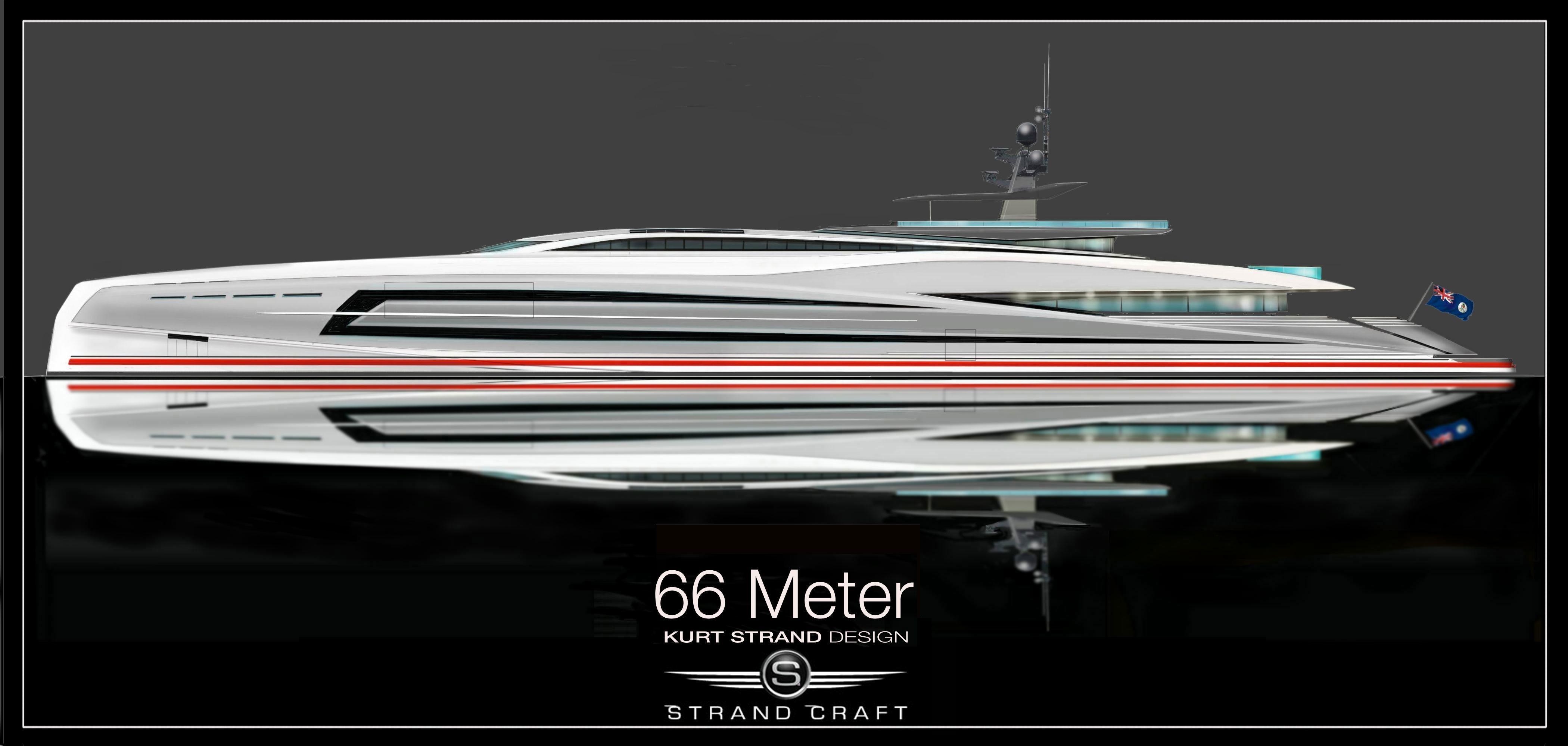 66 Meter Superyacht Design By Kurt Strand