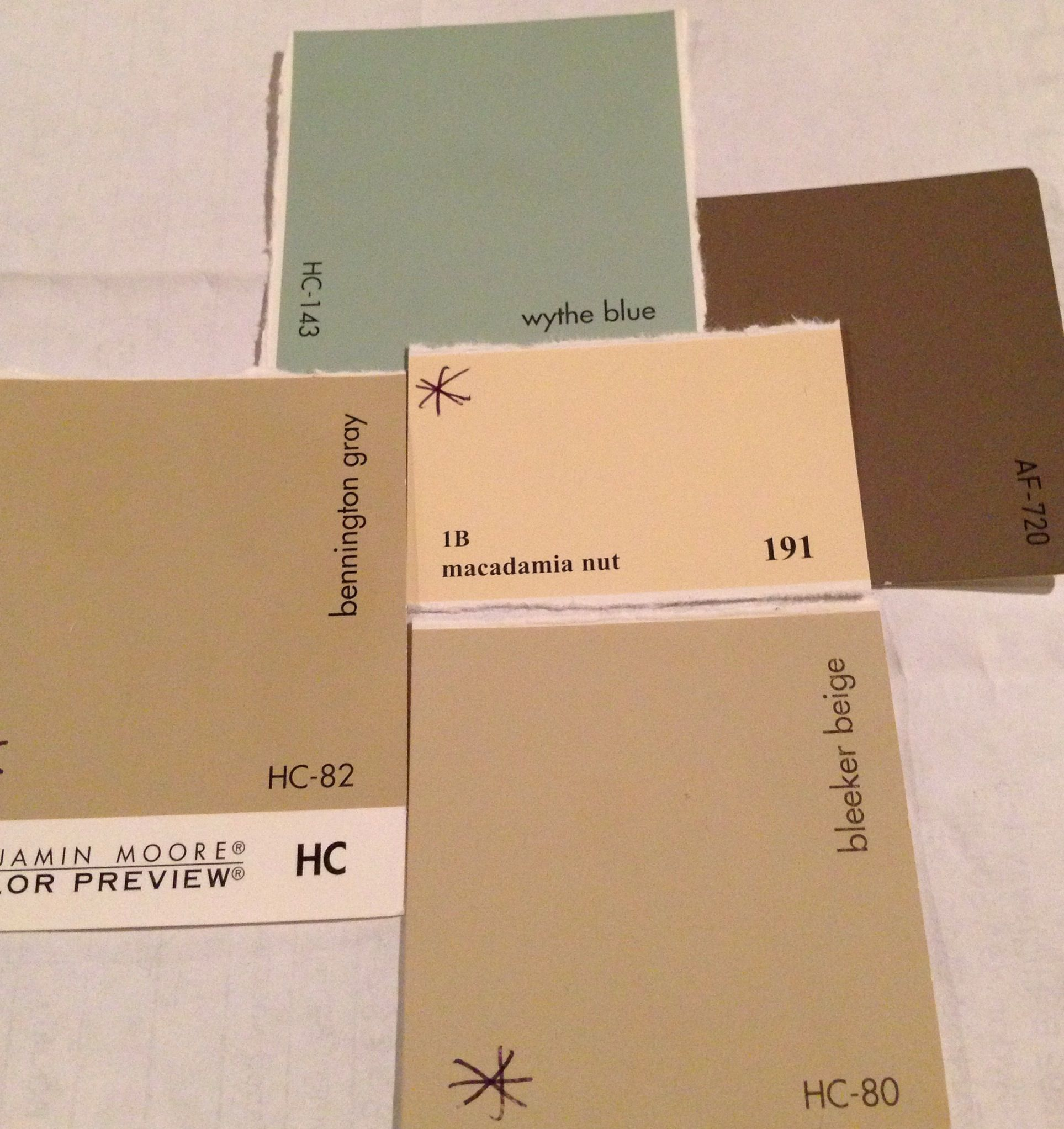 Wythe Blue Sherwin Williams Benjamin More Bleeker Beige And Companions Design The Best