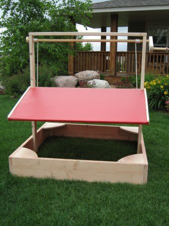 Sand Box Sandboxes Diy Sandbox Kids Yard