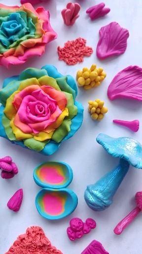 Unique colorful wall gardens