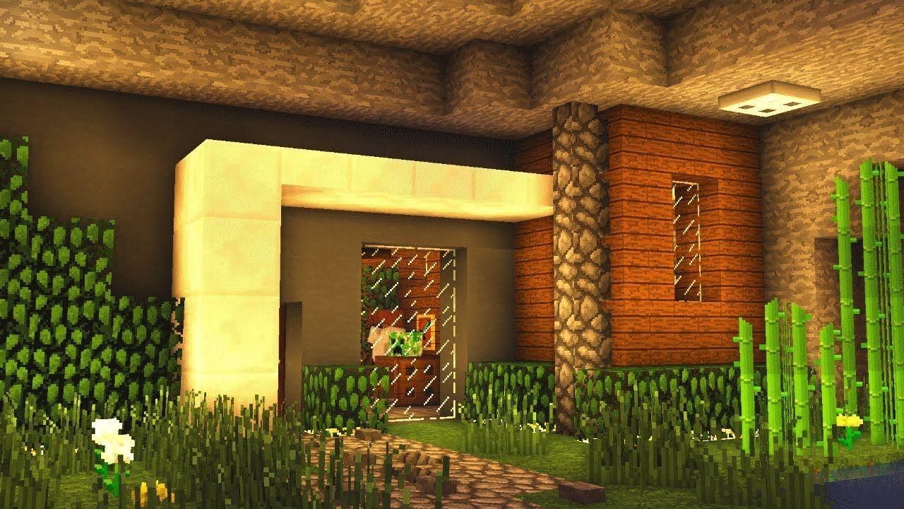 Minecraft Modern House Underground Tutorial (How to Build ...