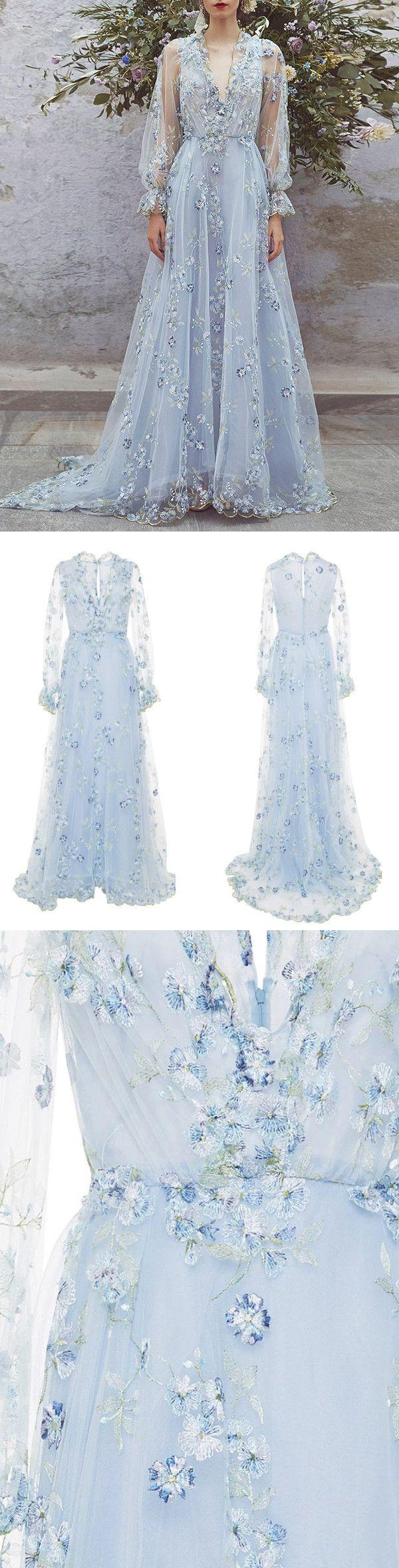 lace v neck prom dress floral long prom dress vb african