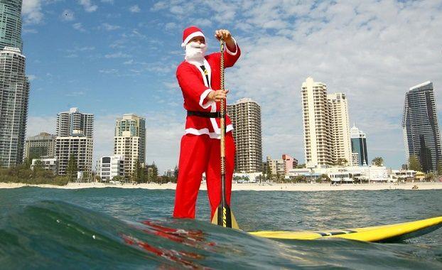 christmas celebration in gold coast australia