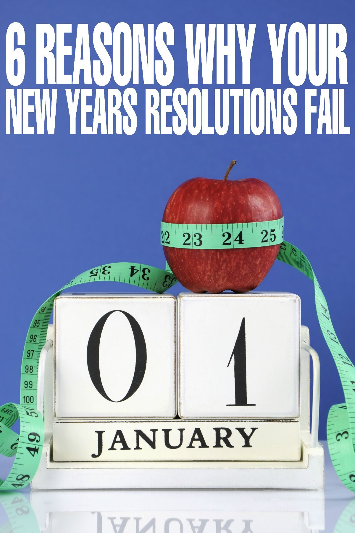 6 Reasons why your New Year Resolutions Fail (With images