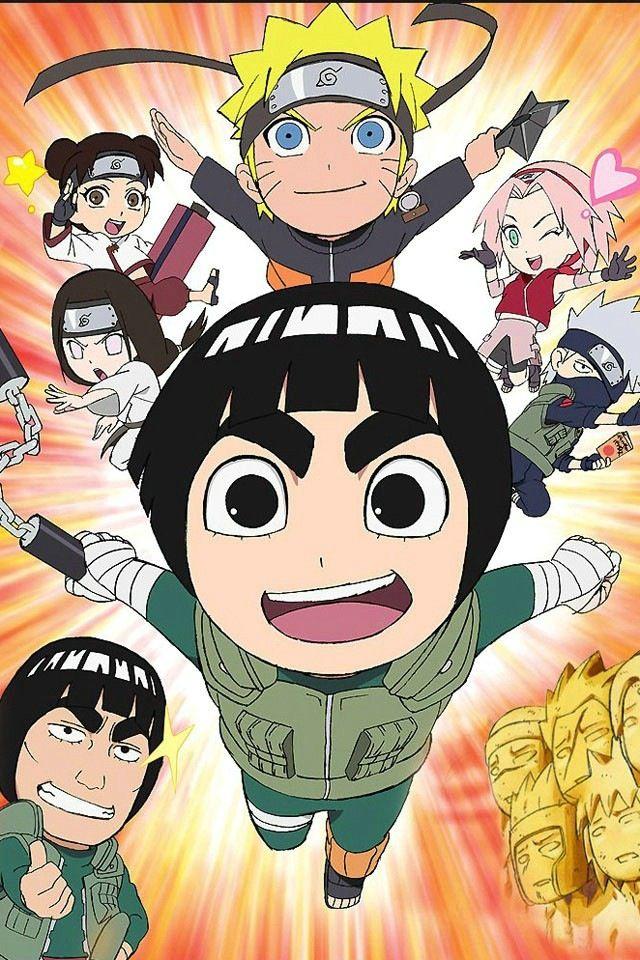 Naruto Rock lee team Manga, Anime mangas et Anime