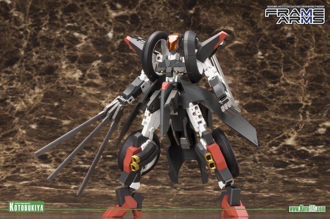 Manufacturer of science fiction, comic, movie and video games figures. Japan. FRAME ARMS RF-12 WILBER NINE PLASTIC MODEL KIT