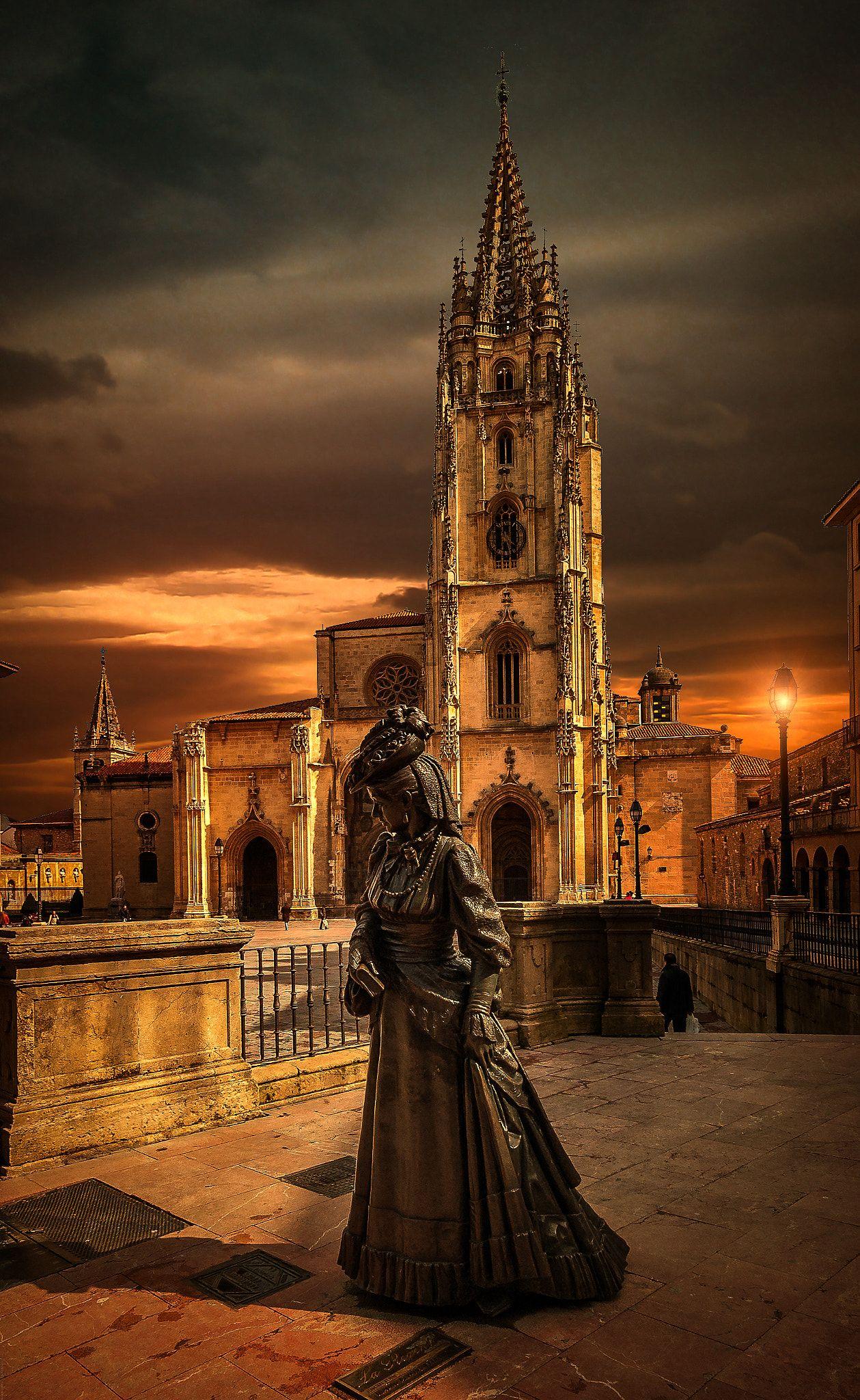 Catedral de San Salvador de Oviedo Gothic Cathedrals Pinterest
