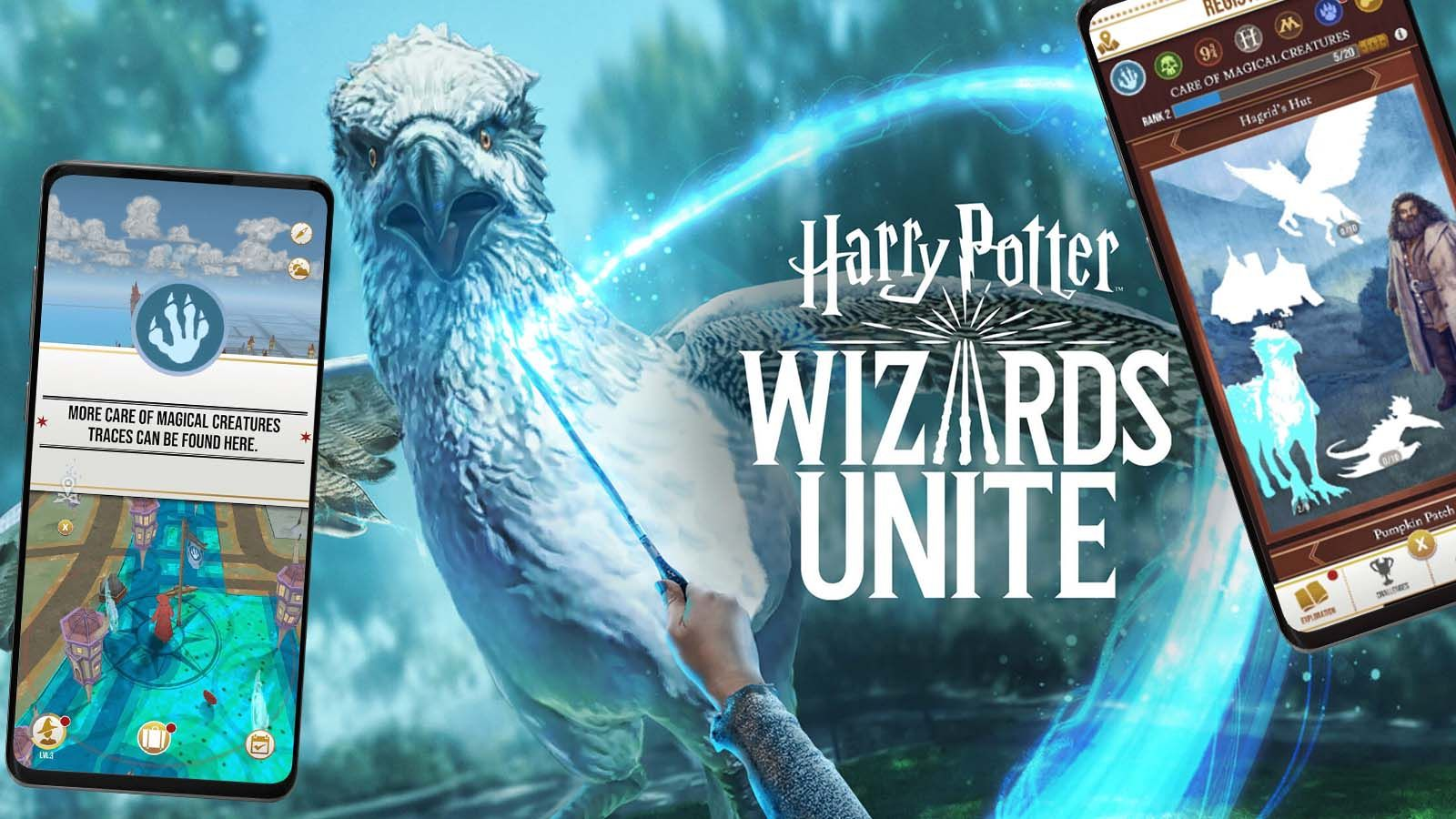 No Way Niantic S Hyped Harry Potter Game Is A Pokemon Go Reskin Niantic Pokemon Go Harry Potter Games