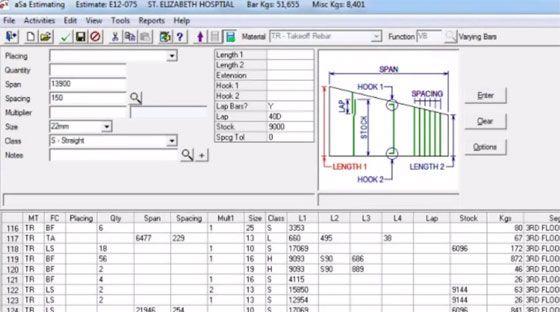 Software For Reinforcement Estimation