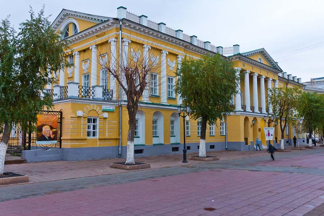 оренбургская улица картинка для