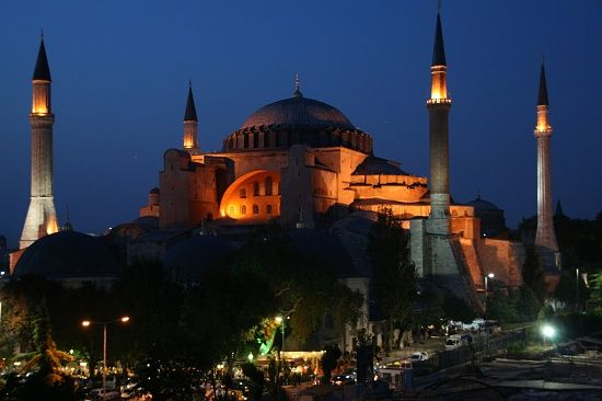 One day I will finally get to visit this amazing building - Hagia Sophia, originally a byzantine church, but its now a mosque