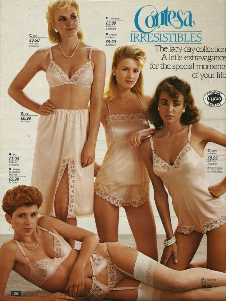 uk in the lingerie catalogues