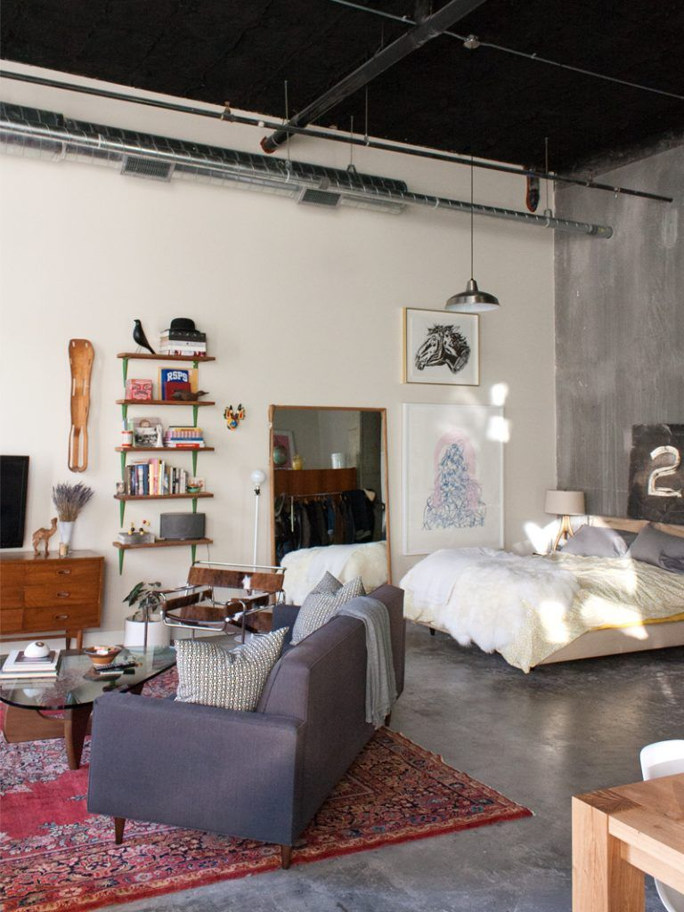 Gravity Home How to divide a studio apartment with the placement of