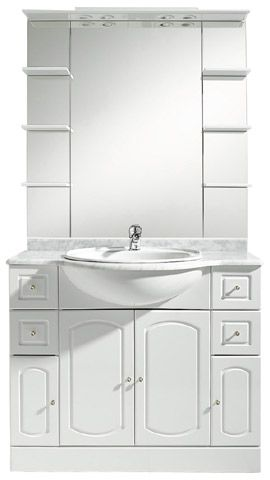 Meuble de salle de bains Rimini 100 cm CASTORAMA 289 00 EUR