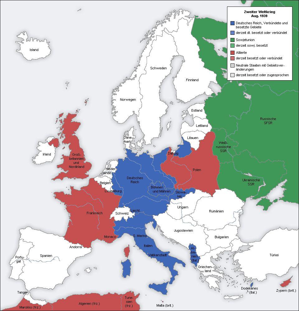 Httpssmediacacheakpinimgcomoriginalsba - Ww2 map of europe