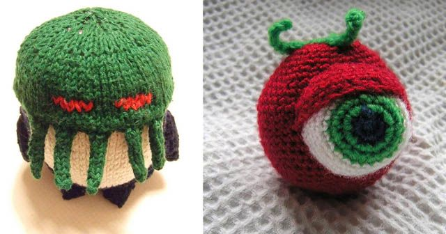 Strange Knitting Weird Creations Pinterest