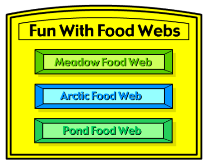 food web game from harcourtschool