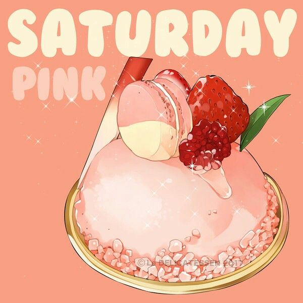 saturday pink by le delicatessen https www facebook com ledelicatessen