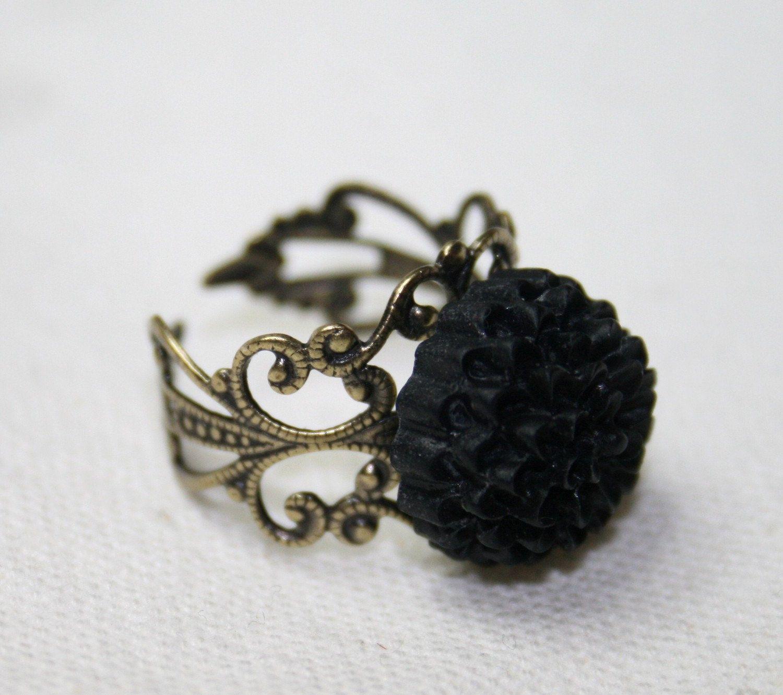 black dahlia flower Google Search Victorian style