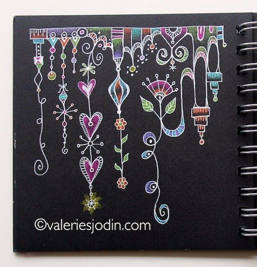 visual blessings more doodling on the dark let s draw pinterest doodles blessings and zentangles