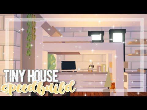 Cozy Tiny House Speedbuild Adopt Me Adopt Me Speedbuild Youtube In 2020 Tiny House Design Cool House Designs Tiny House Loft