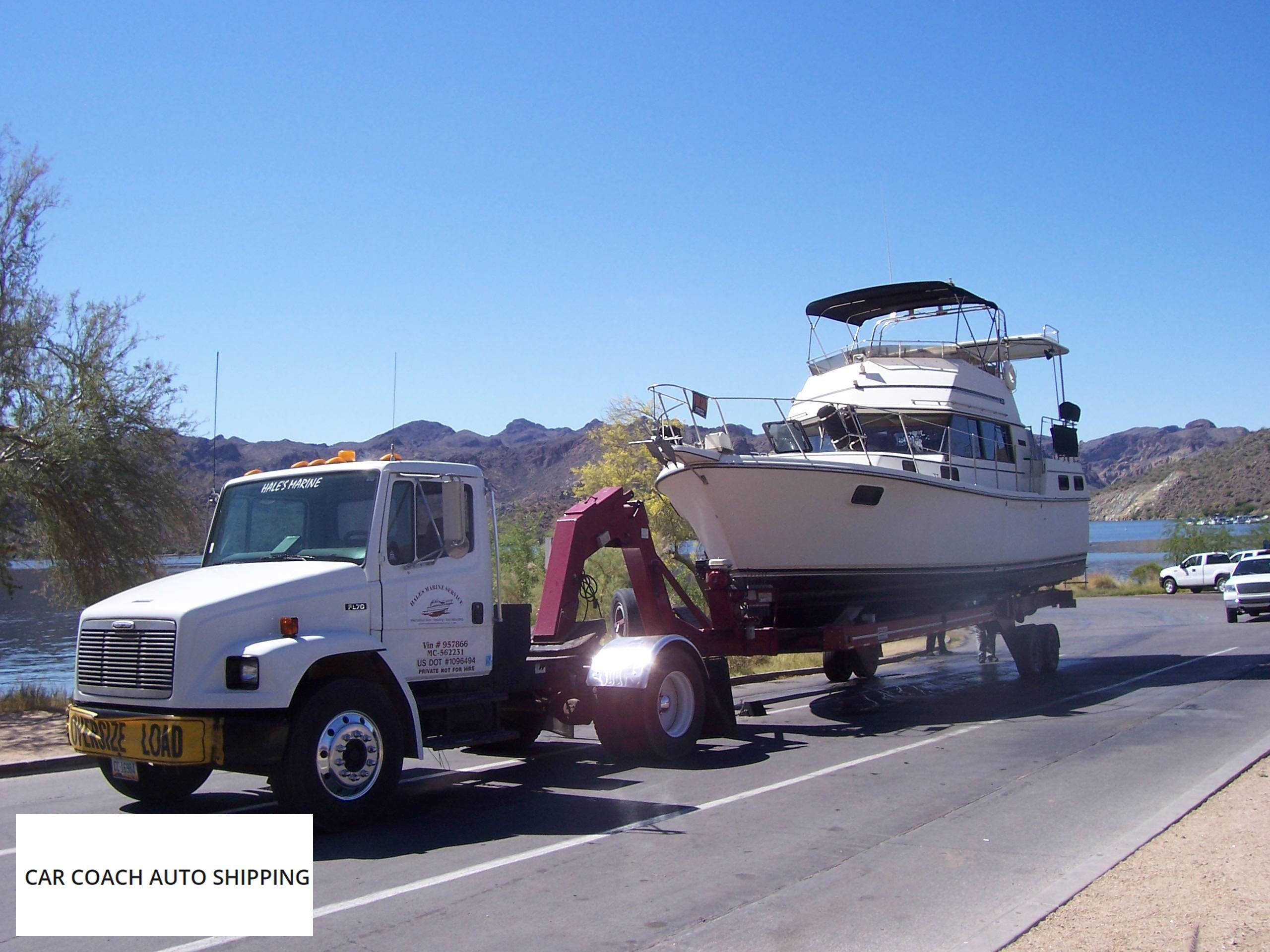 Towing Quote We Can Transport Small Motor Boats Anywhere In The Us From Pickup