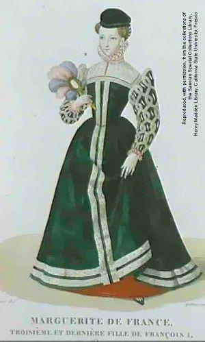 robe 16e Marguerite de France Robe, Marguerite De France, Renaissance  Française, Accessoires,