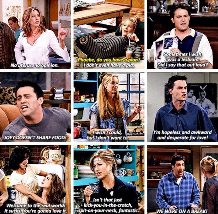 Some of the best one liners from the show ❤️