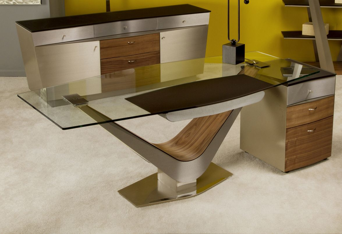 Beautiful Modern Office Cabinet Design