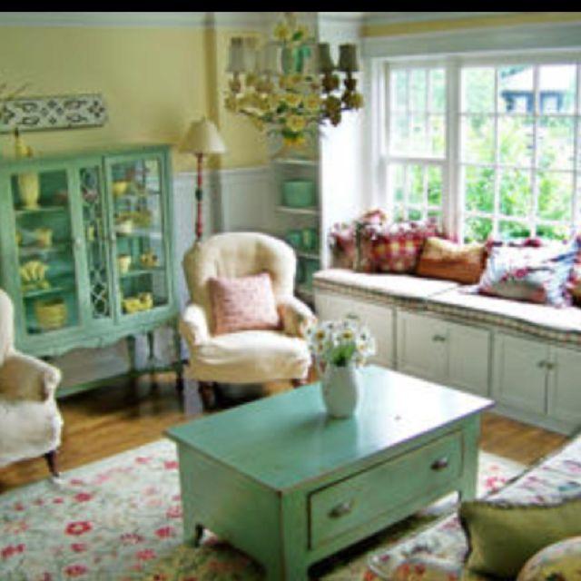 Living room.... Love the chandelier