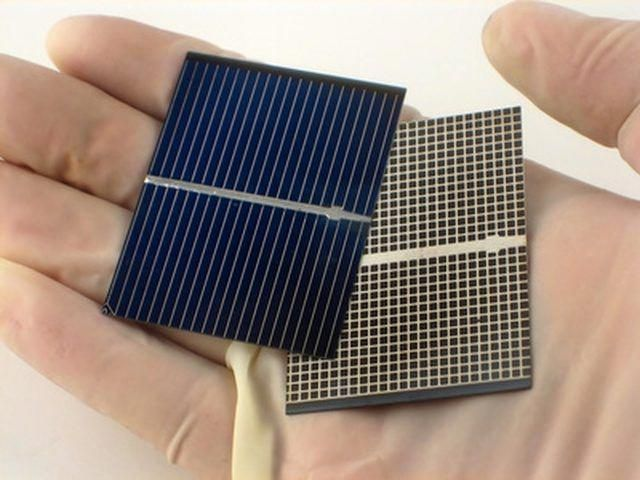how to make a solar panel to power small appliances