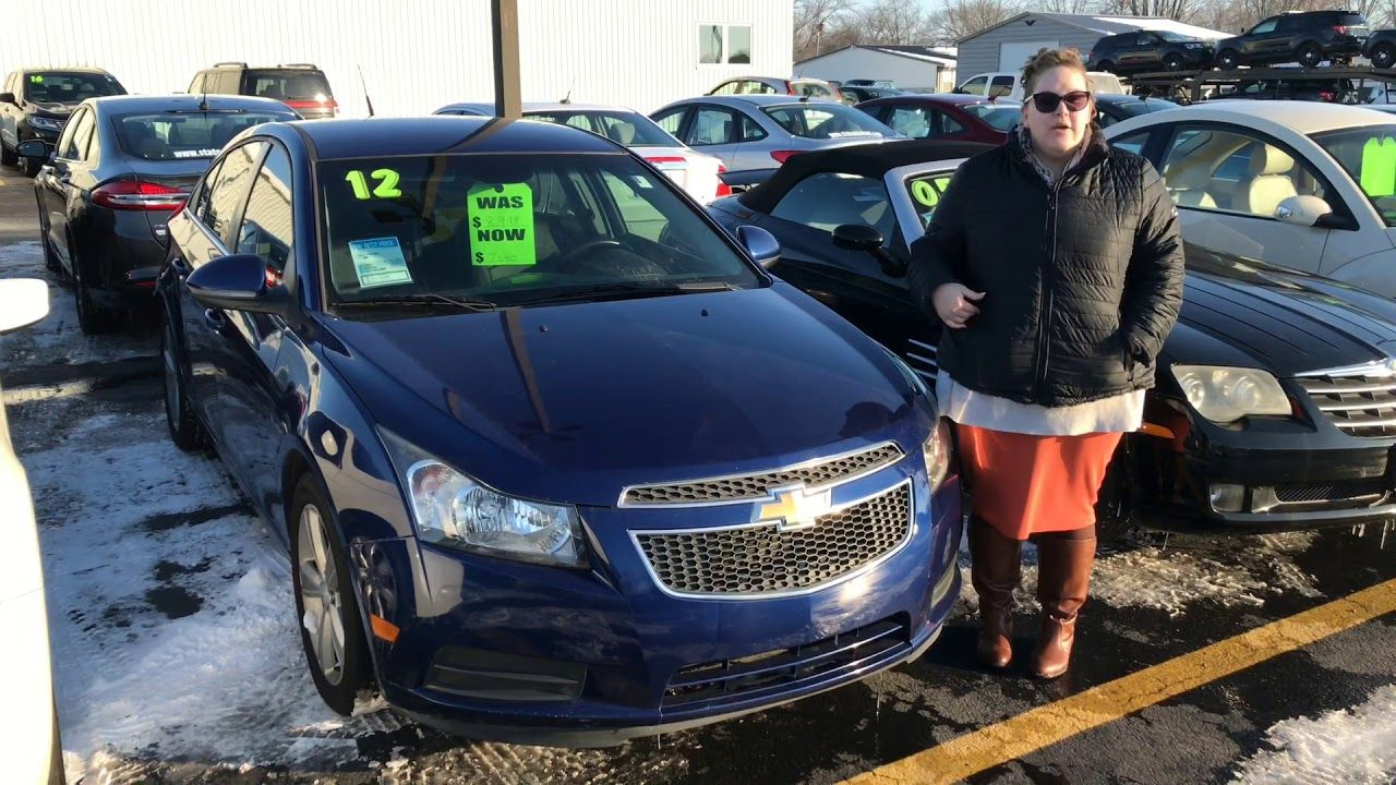 2012 Chevrolet Cruze 2lt At Statewide Ford Lincoln In Van Wert