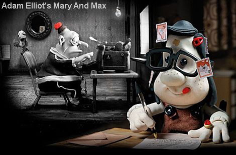 Mary Max A Claymation Story Of Two Oddballs On Opposite Sides Of The World Who Strike Up A Random Friendship Over Mary And Max Stop Motion Clay Animation