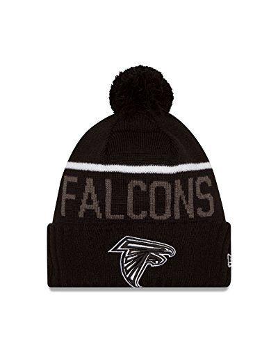 new products f36a7 53913 best mens atlanta falcons new era black team logo cuffed knit hat 6faba  f0f86  usa atlanta falcons knit hat 832f2 94f76