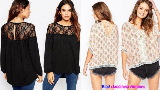 cd49adbd9 90 Modelos de Blusas Femininas que esta na Moda, para vocês se inspirarem,  comprarem, fazer ou mandar fazer.
