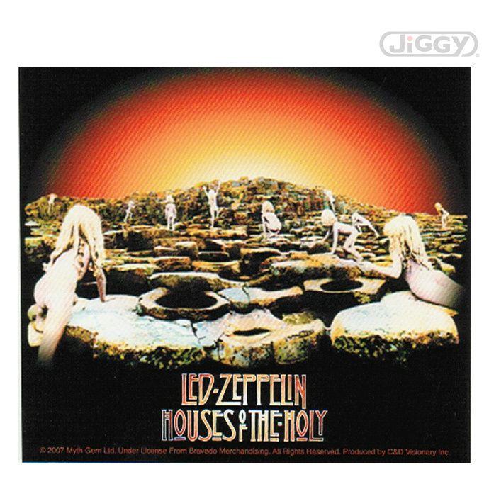 Led Zeppelin Houses Of The Holy Sticker Led Zeppelin
