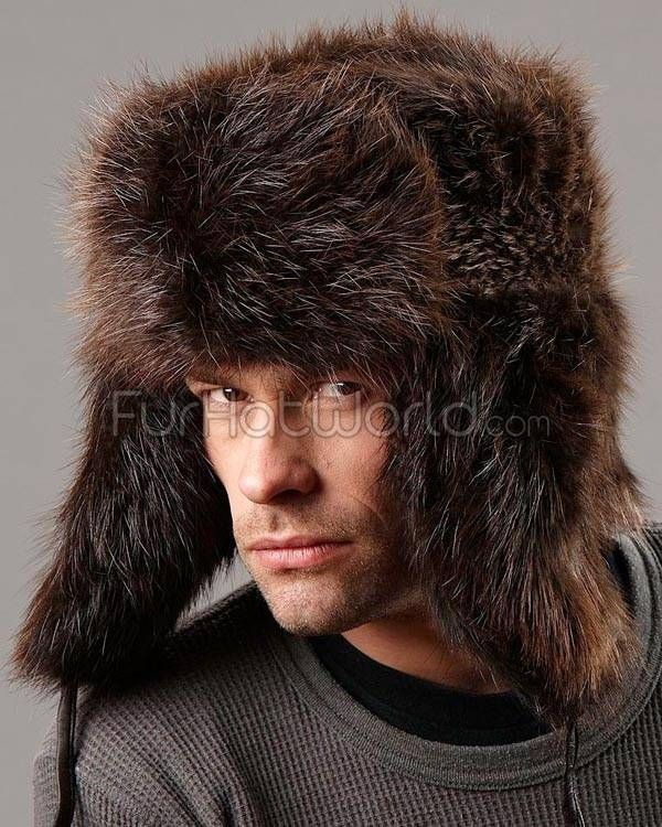 Beaver Full Fur Russian Hat  6ba225c3c7e