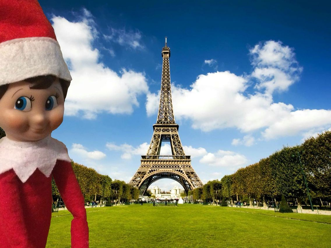 Elf on the shelf paris elfontheshelf christmas elf - Christmas elf on the shelf wallpaper ...