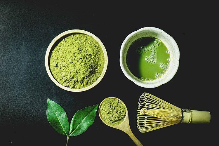 شاي ماتشا الياباني ومي زاته Matcha Tea Benefits Green Tea Powder What Is Matcha