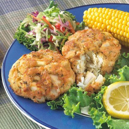 Shirley S Original Crab Cakes Seafood Recipes Seafood