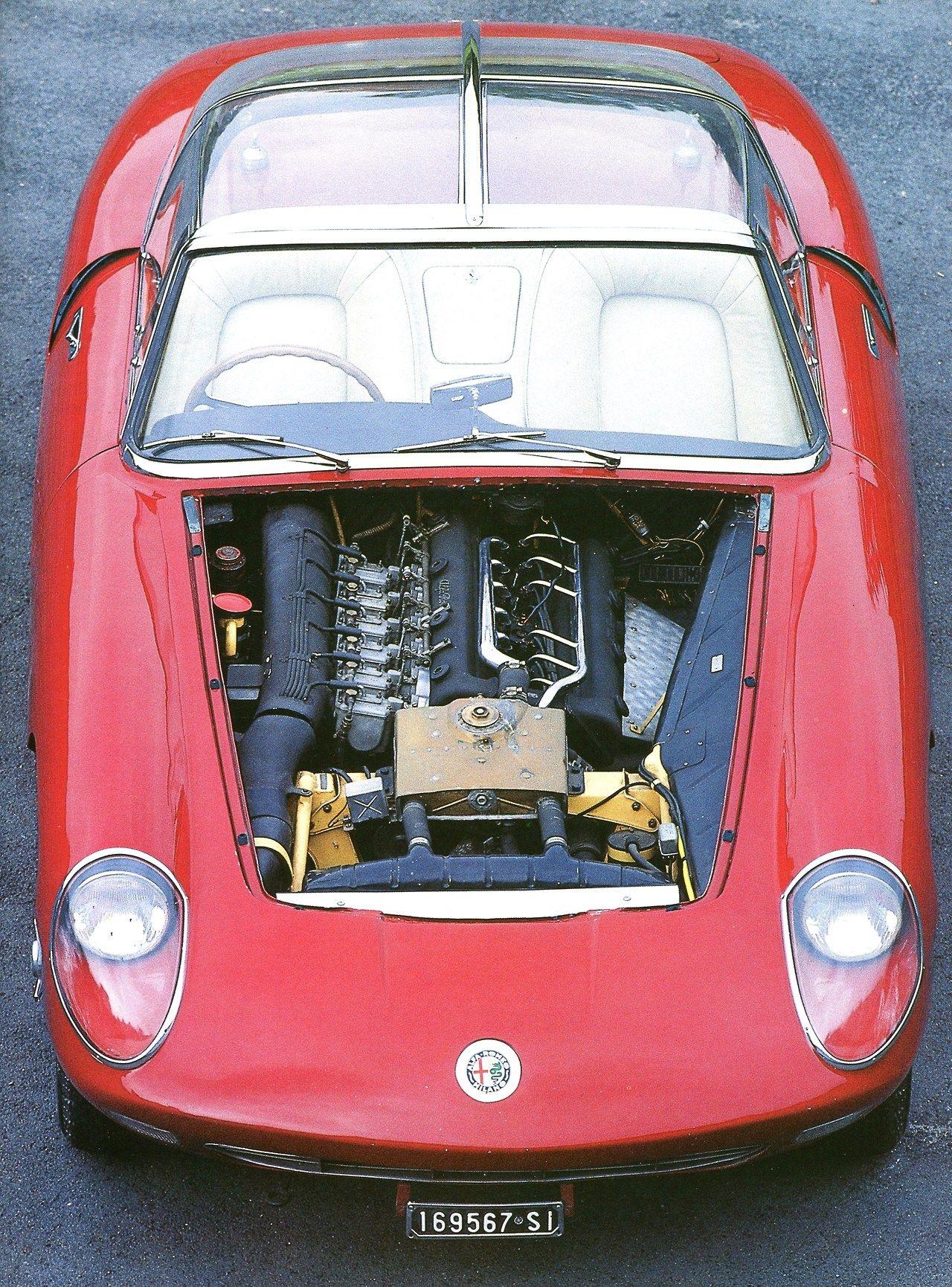 """Alfa Romeo 6C 3000 """"Pininfarina"""" 1960 Automobiles Classiques"""