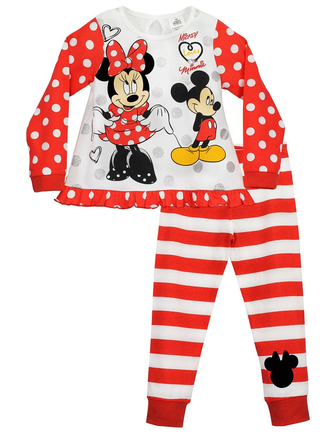ec39510c80 Disney Minnie Mouse - Pijama para niñas - Minnie Mouse  Amazon.es  Ropa y…