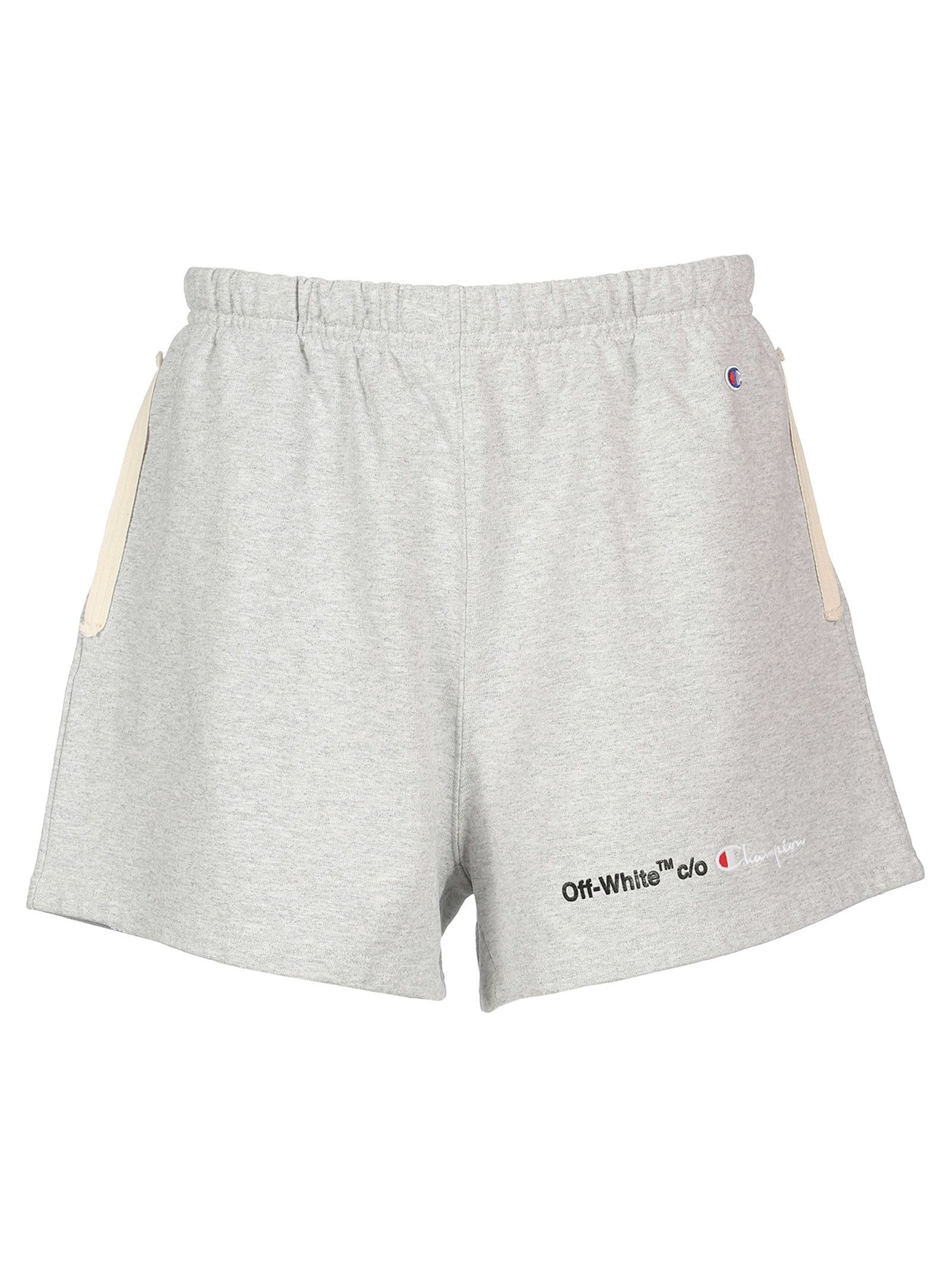 Champion Logo Track Shorts In 0710 Grey B Track Shorts Champion Logo Running Shorts