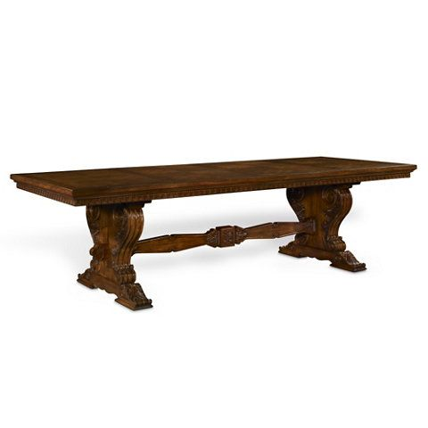 ralph lauren dining room furniture set. cannes trestle dining table - tables furniture products ralph lauren home room set c