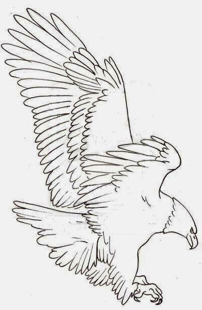 Eagle tattoo stencils | Art | Tattoo stencils, Hawk tattoo