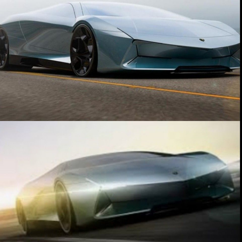 Lamborghini Pura Electric Concept Car Cars Car Concept Cars
